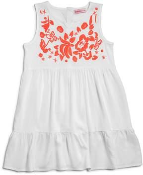 Design History Girls' Embroidered Shirt Dress - Little Kid