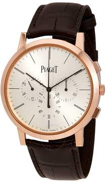 Piaget Altiplano Ultra-thin 18K Rose Gold Chronograph Flyback Men's Watch GOA40030