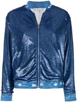 IRO sequin Nanaso bomber jacket