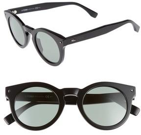 Fendi Men's 48Mm Sunglasses - Black