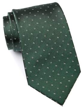 Kenneth Cole Reaction Block Neat Silk Tie