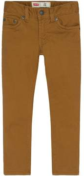 Levi's Boys 4-7x Slim-Fit Sueded Pants