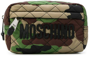 Moschino camouflage make-up bag