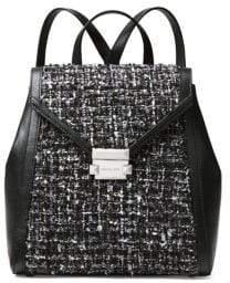 MICHAEL Michael Kors Medium Whitney Textured Backpack