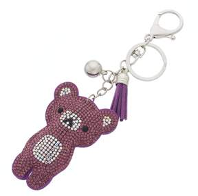 Mudd Tasseled Teddy Bear Key Chain