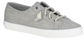 Sperry Seacoast Linen Round-Toe Sneakers