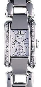 Chopard La Strada Diamond Steel White Ladies Watch