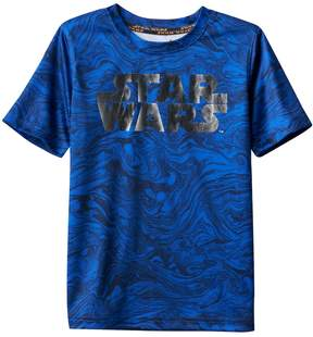Star Wars A Collection For Kohls Boys 4-7x a Collection for Kohl's Abstract Short Sleeve Tee