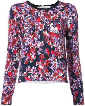 Carolina Herrera floral print buttoned cardigan