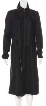 Christian Lacroix Wool Embellished Coat