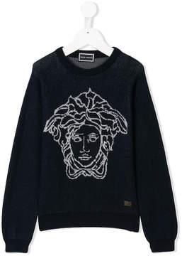Versace medusa sweater