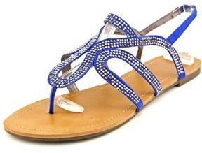Material Girl Serena Open-toe Synthetic Slingback Sandal.