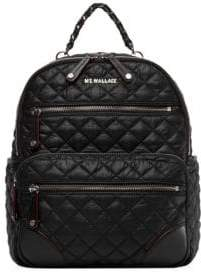 MZ Wallace Small Crosby Quilted Backpack
