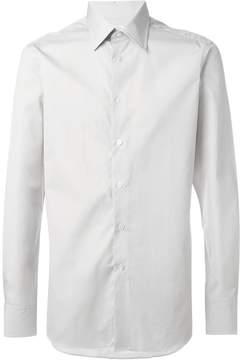 E. Tautz cutaway collar shirt