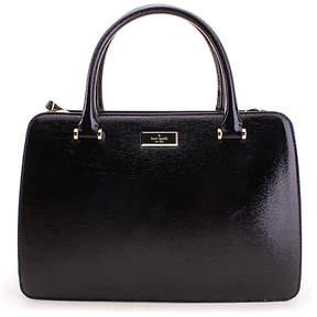 Kate Spade Black Lise Bixby Place Leather Satchel