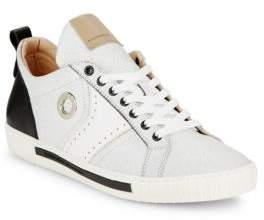 Alessandro Dell'Acqua Low-Top Leather Sneakers