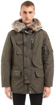 Parajumpers Kodiak Down Jacket W/ Fur Trim