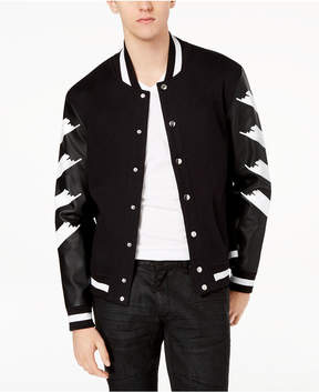INC International Concepts I.n.c. Men's Strokes Varsity Jacket, Created for Macy's