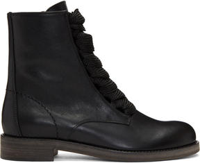 Chloé Black Harper Palmer Boots