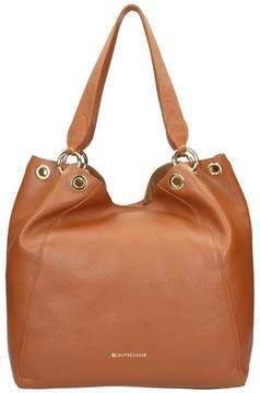 L'Autre Chose Brown Calf Leather Bag