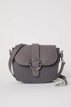 H&M Small Shoulder Bag with Tassel - Gray