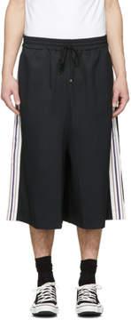 Miharayasuhiro Black Line Tape Skirt Trousers