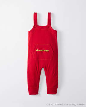 Hanna Andersson Curious George Overalls In Organic Cotton