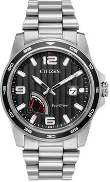 Citizen AW7030-57E Silver Stainless Steel Eco-Drive PRT Men's Watch