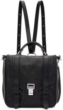 Proenza Schouler Black PS1and Zip Backpack