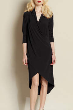 Clara Sunwoo Crossover Knit Dress