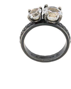 Bottega Veneta embellished ring