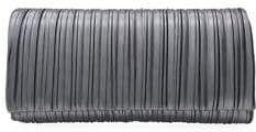 Adrianna Papell Pleated Convertible Clutch