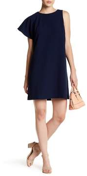 Chelsea28 Sleeveless One Shoulder Solid Dress