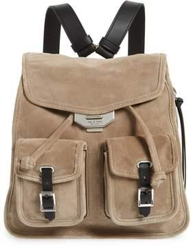 Rag & Bone Small Suede Field Backpack