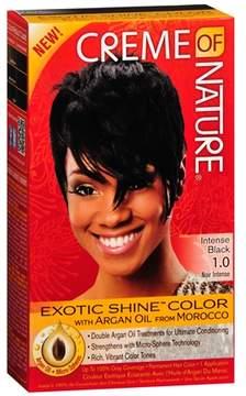 Creme Of Nature Nourishing Permanent Hair Color Kit Intense Black