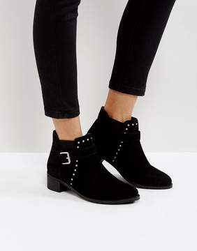Park Lane Suede Studded Boots