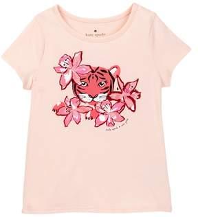 Kate Spade tiger lily tee (Toddler & Little Girls)