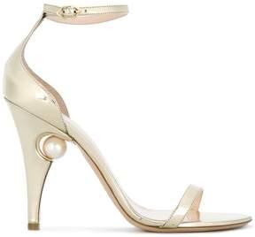 Nicholas Kirkwood 105mm Penelope pearl sandals