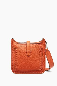 Rebecca Minkoff Mini Unlined Feed Bag Whipstitch - NATURAL - STYLE