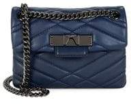 Kurt Geiger London Quilted Leather Crossbody Bag