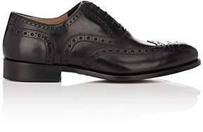 Barneys New York Men's Leather Wingtip Balmorals
