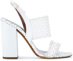 Tabitha Simmons Senna perforated sandals