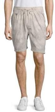 Publish Deacon Printed Cotton Shorts