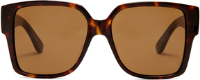 SAINT LAURENT Rectangle-frame sunglasses