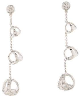 Di Modolo 18K Diamond Triadra Drop Earrings