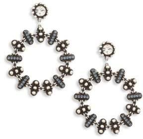 Dannijo Elara Crystal Hoop Earrings/2