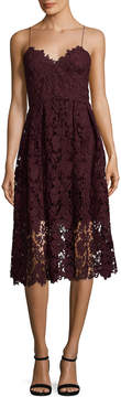 Donna Morgan Embroidery Lace Dress