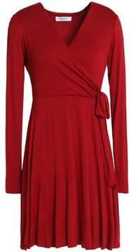 Bailey 44 Wrap-Effect Stretch-Jersey Mini Dress