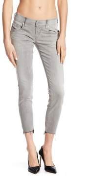 Diesel Grupee Super Slim Skinny Fray Step Hem Ankle Jeans