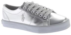 Polo Ralph Lauren Girls' Scholar Low-Top Sneaker - Big Kid